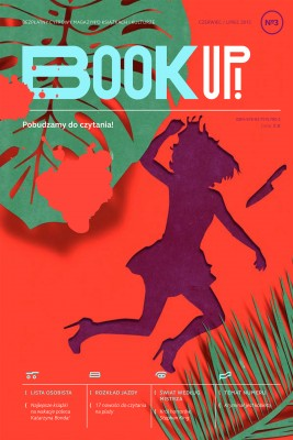 okładka Book Up! Pobudzamy do czytania numer 3, Ebook | Zespół Redakcyjny