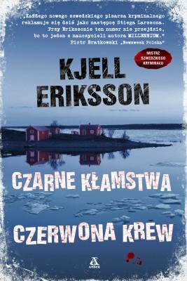 okładka Czarne kłamstwa, czerwona krew, Ebook | Kjell Eriksson