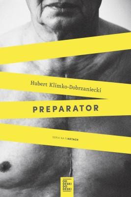 okładka Preparator, Ebook | Hubert Klimko-Dobrzaniecki