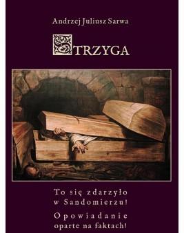 okładka Strzyga. Opowieść niesamowita, Ebook | Andrzej  Sarwa