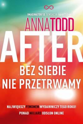 okładka After 4. Bez siebie nie przetrwamy, Ebook | Anna Todd