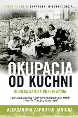 okładka Okupacja od kuchni, Ebook | Aleksandra Zaprutko-Janicka