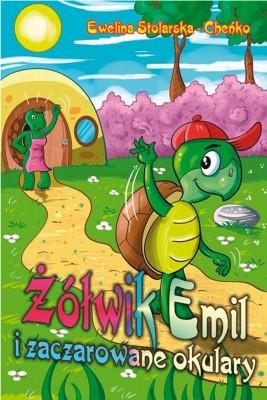 okładka Żółwik Emil i zaczarowane okulary, Ebook | Ewelina  Stolarska – Cheńko