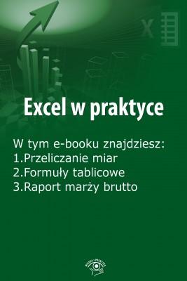 okładka Excel w praktyce, wydanie październik 2015 r., Ebook | Rafał  Janus