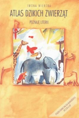 okładka Atlas dzikich zwierząt. Poznaję literki, Ebook | Iwona  Wierzba