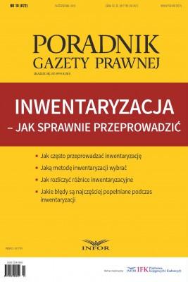 okładka Inwentaryzacja - jak sprawnie przeprowadzić, Ebook | INFOR PL SA