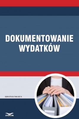 okładka Dokumentowanie wydatków, Ebook | INFOR PL SA