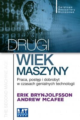 okładka Drugi wiek maszyny, Ebook   Erik   Brynjolfsson, Andrew McAfee