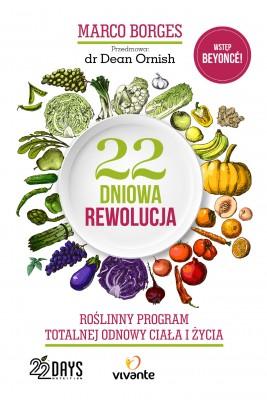 okładka 22-dniowa rewolucja. Roślinny program totalnej odnowy ciała i życia, Ebook | Marco Borges