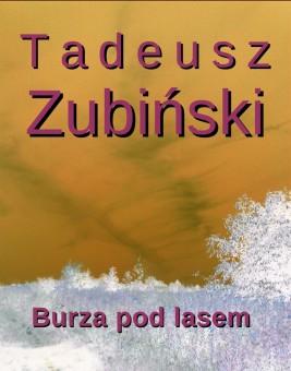 okładka Burza pod lasem, Ebook | Tadeusz Zubiński