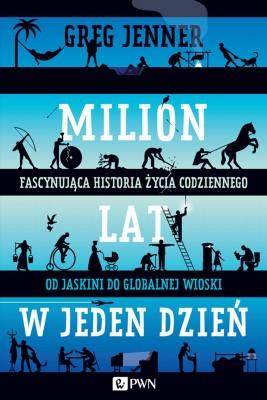 okładka Milion lat w jeden dzień, Ebook   Greg  Jenner