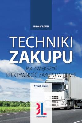okładka Techniki zakupu, Ebook | Lennart Rosell