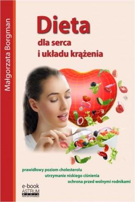 okładka Dieta dla serca i układu krążenia, Ebook | Małgorzata Borgman