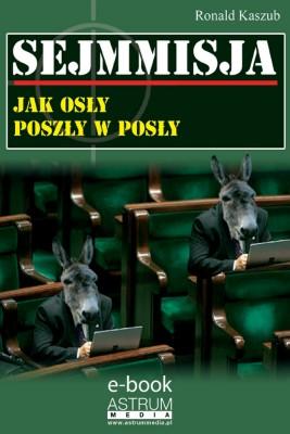 okładka Sejmmisja, Ebook | Ronald Kaszub