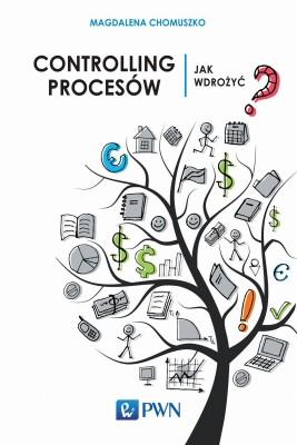 okładka Controlling procesów, Ebook | Magdalena  Chomuszko