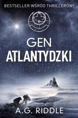 okładka Gen atlantydzki, Ebook | A.G. Riddle