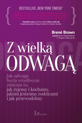 okładka Z wielką odwagą, Ebook | Brené Brown
