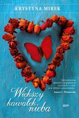 okładka Większy kawałek nieba, Ebook | Krystyna Mirek