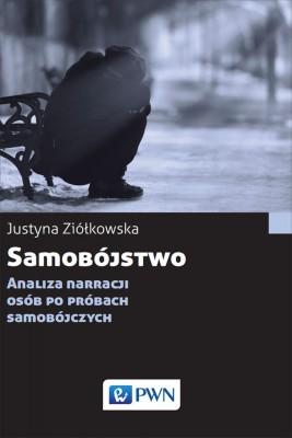 okładka Samobójstwo, Ebook   Justyna  Ziółkowska