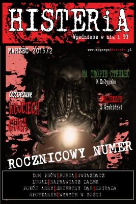 okładka Magazyn Histeria 2015/2 PDF, Ebook | autor  zbiorowy
