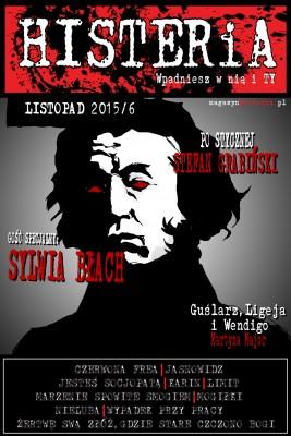 okładka Magazyn Histeria 2015/6 PDF, Ebook | autor  zbiorowy