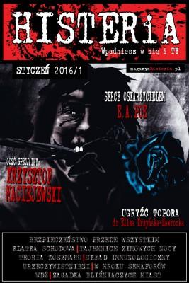 okładka Magazyn Histeria 2016/1, Ebook | autor zbiorowy