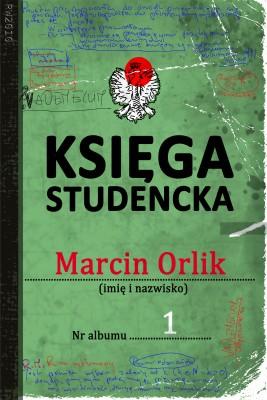okładka Księga studencka, Ebook | Marcin Orlik