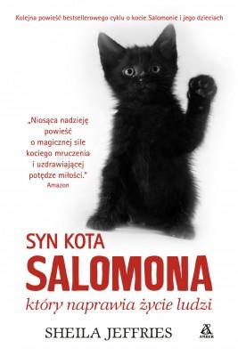okładka Syn kota Salomona, który naprawia życie ludzi, Ebook | Sheila Jeffries