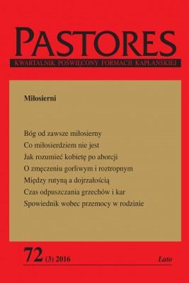 okładka Pastores 72 (3) 2016, Ebook   Zespół Redakcyjny
