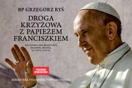 okładka Droga krzyżowa z papieżem Franciszkiem, Ebook | bp Grzegorz Ryś, Papież Franciszek, Adam  Boniecki