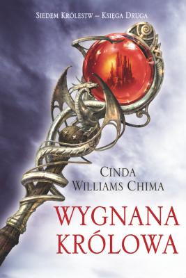 okładka Wygnana królowa, Ebook | Cinda Williams Chima