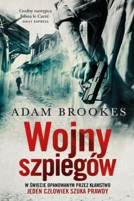 okładka Wojny szpiegów, Ebook   Adam Brookes
