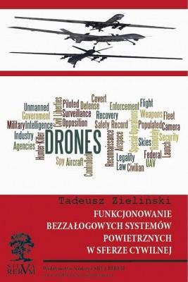 okładka Funkcjonowanie bezzałogowych systemów powietrznych w sferze cywilnej, Ebook | Tadeusz  Zieliński