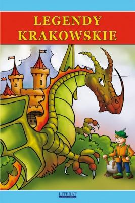 okładka Legendy krakowskie, Ebook | Małgorzata  Korczyńska, Przemysław  Gul
