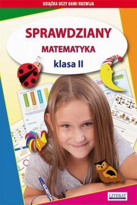 okładka Sprawdziany. Matematyka. Klasa II, Ebook | Beata  Guzowska, Iwona  Kowalska