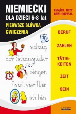 okładka Niemiecki dla dzieci 6-8 lat. Pierwsze słówka. Ćwiczenia, Ebook | Joanna  Bednarska, Monika  von Basse