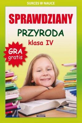 okładka Sprawdziany. Przyroda. Klasa IV, Ebook | Grzegorz  Wrocławski