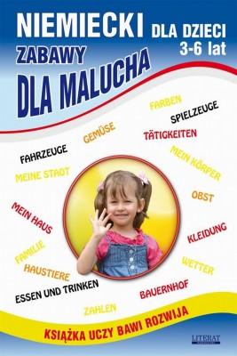 okładka Niemiecki dla dzieci 3-6 lat. Zabawy dla malucha, Ebook | Katarzyna  Piechocka-Empel, Monika  von Basse
