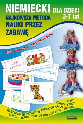 okładka Niemiecki dla dzieci 3-7 lat. Najnowsza metoda nauki przez zabawę, Ebook | Katarzyna  Piechocka-Empel, Monika  von Basse