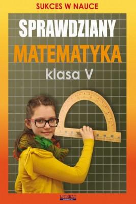 okładka Sprawdziany Matematyka Klasa V, Ebook | Agnieszka  Figat-Jeziorska