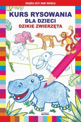 okładka Kurs rysowania dla dzieci. Dzikie zwierzęta, Ebook | Krystian  Pruchnicki, Mateusz  Jagielski