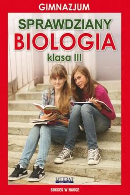 okładka Sprawdziany. Biologia. Gimnazjum. Klasa III, Ebook | Grzegorz  Wrocławski