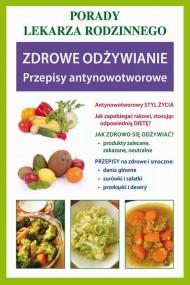 okładka Zdrowe odżywianie. Przepisy antynowotworowe. Ebook | PDF | Praca zbiorowa