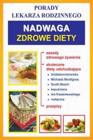 okładka Nadwaga. Zdrowe diety. Ebook | PDF | Praca zbiorowa