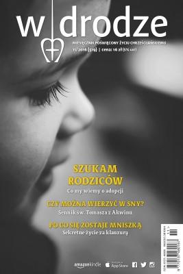 okładka miesięcznik W drodze nr 11/2016, Ebook | autor  zbiorowy