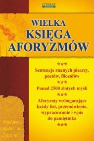 okładka Wielka księga aforyzmów. Ebook | PDF | Praca zbiorowa