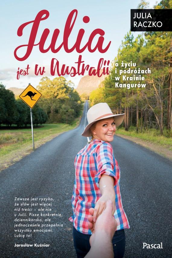 okładka Julia jest w Australii. Ebook | EPUB, MOBI | Julia Raczko
