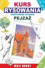 okładka Kurs rysowania Podstawowe techniki. Pejzaż, Ebook | Mateusz  Jagielski