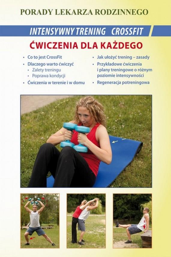 okładka Intensywny trening CrossFit. Ćwiczenia dla każdegoebook | PDF | Marcin Michalski, Emilia  Chojnowska