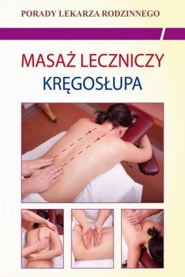 okładka Masaż leczniczy kręgosłupa, Ebook | Emilia  Chojnowska
